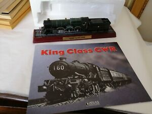 King Class GWR model & booklet. Atlas Editions Locomotive Collection.