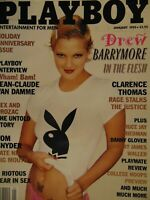 Playboy January 1995 Drew Barrymore Melissa Deanne Holliday #2608+
