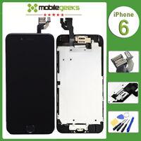 Display für iPhone 6 A1549 A1586 A1589 LCD Glas Scheibe VORMONTIERT SCHWARZ NEU