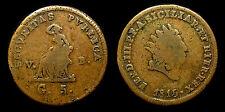 pci1079)  Regno di Sicilia Ferdinando III 5 Grani 1815