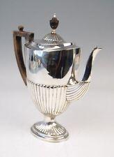SILBER KAFFEE KANNE COFFEE POT BRITISCHES KÖNIGREICH UK LONDON UM 1887 H: 27 CM