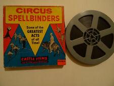 "Standard 8mm b/w sound 1x 200'' ""CIRCUS SPELLBINDERS"" Original box"