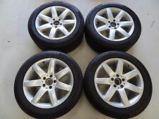 MERCEDES 17X8.5 INCH WHEELS AND 255/45/17 CONTINENTAL SPORTCONTACT 5 TYRES 5X112