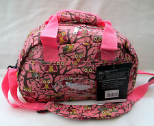 RYANAIR 2ND SIZE CARRY ON BAG [ PINK OWL & TREE  /BOARDING BAG/ SMALL HOLDALL