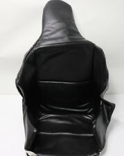 RACING SEAT COVER Black Vinyl Upholstery for Fiberglass High Back Seat Poly  NEW