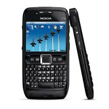 Black Original Nokia E71 Unlocked QWERTY Keypad Wifi 3G 3.15MP MP3 Player Phone
