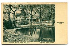 Vintage Postcard MAINE MAID TEA HOUSE Restaurant JERICHO LONG ISLAND NY Quaker