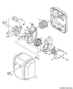 Ersatzteile für Buderus Anbaubrenner Logatop BE-A 1.1-17 21, 28, 34 45 55 68 KW