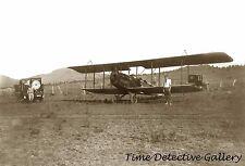 Bi-plane Getting Ready to Fly the Grand Canyon, AZ - 1922 - Historic Photo Print