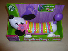 New Leap Frog Alpha Pup Pull-Along Phonics Alphabet Doggie Phrases 12+ Months >>