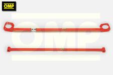 OMP FRONT & REAR STRUT BRACE FIAT UNO TURBO 1.3 1.4
