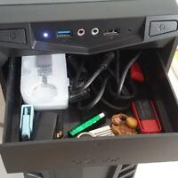 Desktop computer ATX/MATX companion, blank drawer rack 5.25