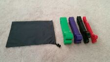 Resistance Training Bands - 4 Pack - Professional Grade Exercise Gear