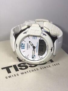 TISSOT T-Race Touch Unisex Watch White T081420A 10ATM Ø42mm