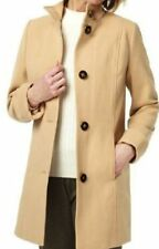 M&S Classic Funnel Neck Panelled Coat, SZ12, BNWT, Was £69