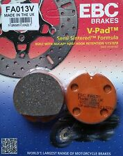 EBC/FA013V Semi-Sintered Brake Pads (Front) - Honda CB750 F/F1 76-77, K7 '78