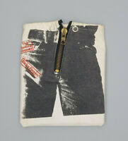 Rolling Stones original Sticky Fingers CD in Zipper bag limited edition