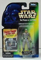 "Star Wars POTF Freeze Frame CAPTAIN PIETT 3.75"" Action Figure 1997 Kenner NEW"