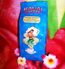 Kauai Coffee Dark Roast Rich Ground 10oz 100% Hawaiian Estate ***BEST BY: 012018