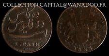 Ile Maurice 10 Cash 1803 East India Company Colonie Britanique