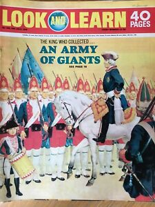 LOOK AND LEARN #444 - 18 JULY 1970 - AN ARMY OF GIANTS