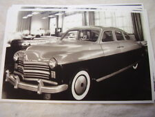 1949 PLYMOUTH  EARLY   DESIGN MOCK UP MODEL  11 X 17  PHOTO   PICTURE