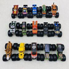 Lot Of 15 Hot Wheels Monster Jam Trucks 1:64 Scale Diecast Horse Power Grave