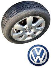 2 Cerchi in Lega New Beetle Usati VOLKSWAGEN VW 5 fori + pneumatici 205 55 R16