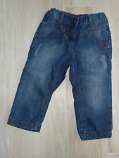 645 - Bermuda/Pantacourt jean bleu effet used 6 ans GKids GEMO comme neuf