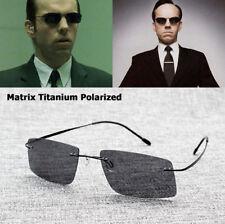 Sunglasses Polarized The Matrix Style Driving Men Brand Design Titanium
