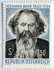 Österreich Austria 1130 Hermann Bahr, Dichter - 1963 **
