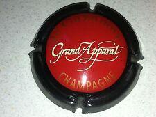 Capsule Champagne De CAZANOVE cuvée grand apparat (20. rouge et noir)