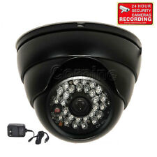 "700TVL Outdoor Security Camera w/ 1/3"" SONY Effio CCD IR LEDs Night w/ Power BDD"