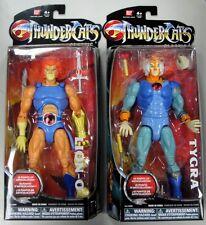 "THUNDERCATS CLASSIC LION-O & TYGRA 8"" INCH ACTION FIGURES BANDAI TOYS"