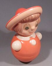 Toy Roly-Poly Nevalyashka Tilting Doll Russian Celluloid Child Soviet Vintage