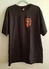 S.F. Giants American Baseball Red Bats And Balls Flag Hanes Tagless Tee T-Shirt