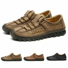 38-48 Mens Breathable Low Top Driving Moccasins Casual Loafers Shoes Gommino L