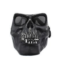 Gotcha Maske / Paintball / Evil Face / Skull Mask für Airsoft Gotcha in schwarz