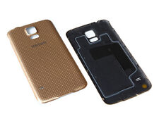 Original samsung Galaxy s5 g900f Batterie Batterie Couvercle Backcover COVER GOLD