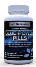 .60 x 100mg Blue Sex Tablets For Men. Free Delivery. Strongest GUARANTEED!