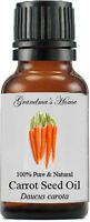 Carrot Seed Essential Oil - 15 mL - 100% Pure and Natural - Free Shipping