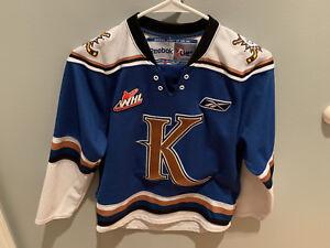 Kootenay Ice Reebok Official Hockey Jersey Youth Small