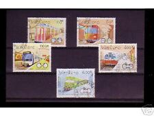 0839++LAOS   SERIE TIMBRES TRAINS  N°4