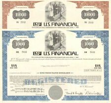 U.S. FINANCIAL real estate fraud California stock certificates