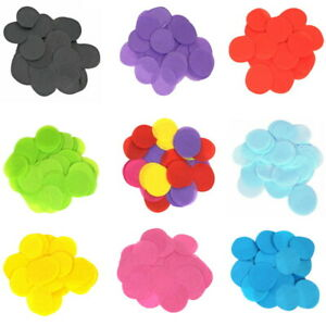 15mm Paper Table Confetti Party Decoration Crafts Wedding Birthday