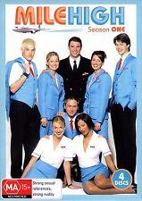 Mile High : Season 1 (DVD, 2007, 4-Disc Set) Adam Sinclair, Jo-Anne Knowles,
