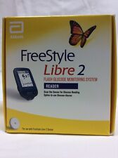 FREESTYLE LIBRE 2 FLASH GLUCOSE MONITORING SYSTEM READER NEW SEALED BOX