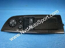 Carbon fiber door switch panels for BMW E63 M6, E64 M6 from NVD