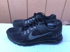 the best attitude 5a423 fee90 Men s Nike Air Max+ 2013 US 9 Black Dark Grey Running Shoes 554886-001  160
