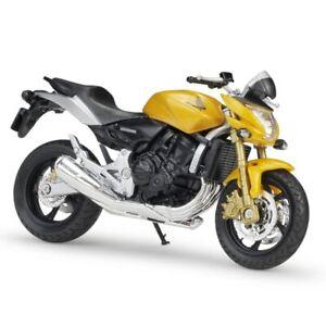 1:18 Honda Hornet Alloy Diecast Sport Motorcycle Model Workable Shork-Abso new